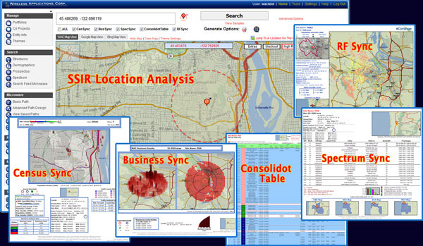 SiteSync Pro SSIR - Site SPecific Information Reports Location Analysis